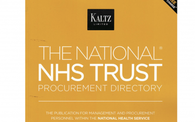 Publication in THE NATIONAL NHS TRUST PROCUREMENT DIRECTORY
