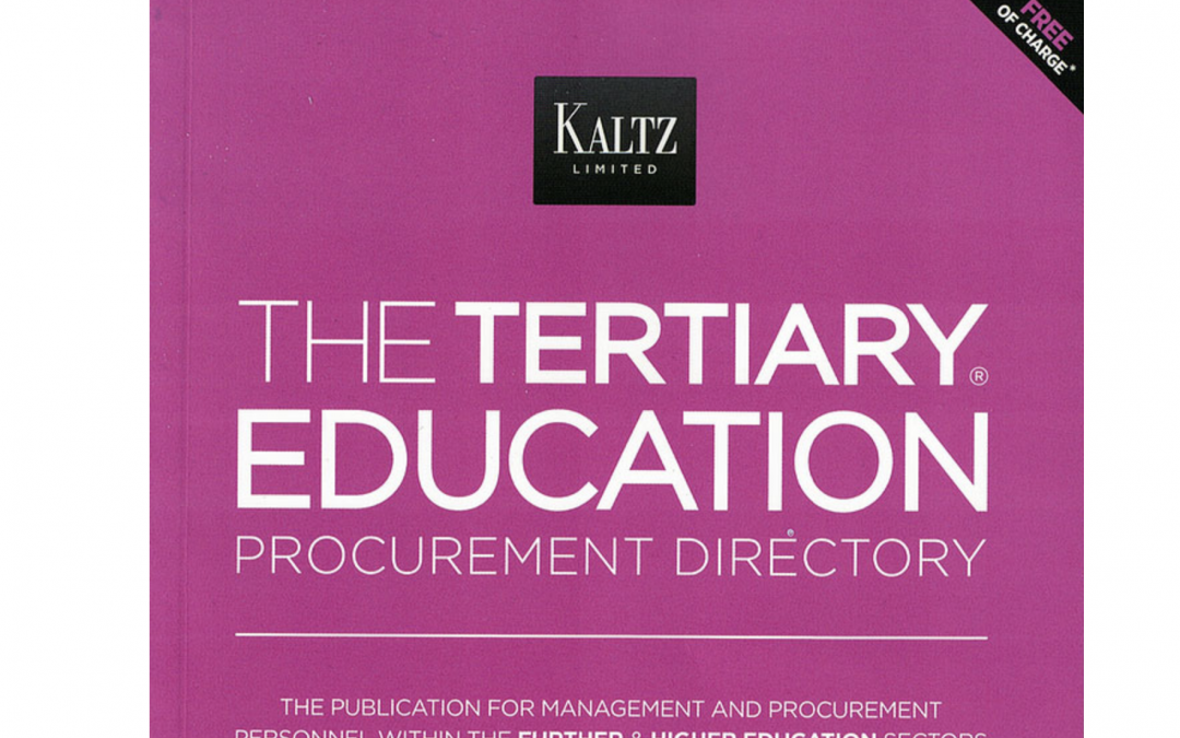 Publication in THE TERTIARY EDUCATION PROCUREMENT DIRECTORY