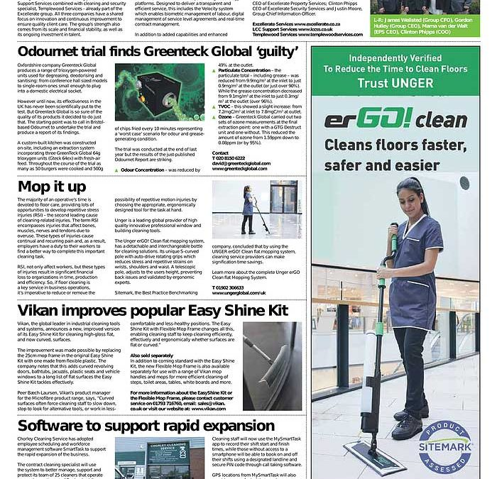 Publication in the Building and Facilities News issue 949 (2019 March)